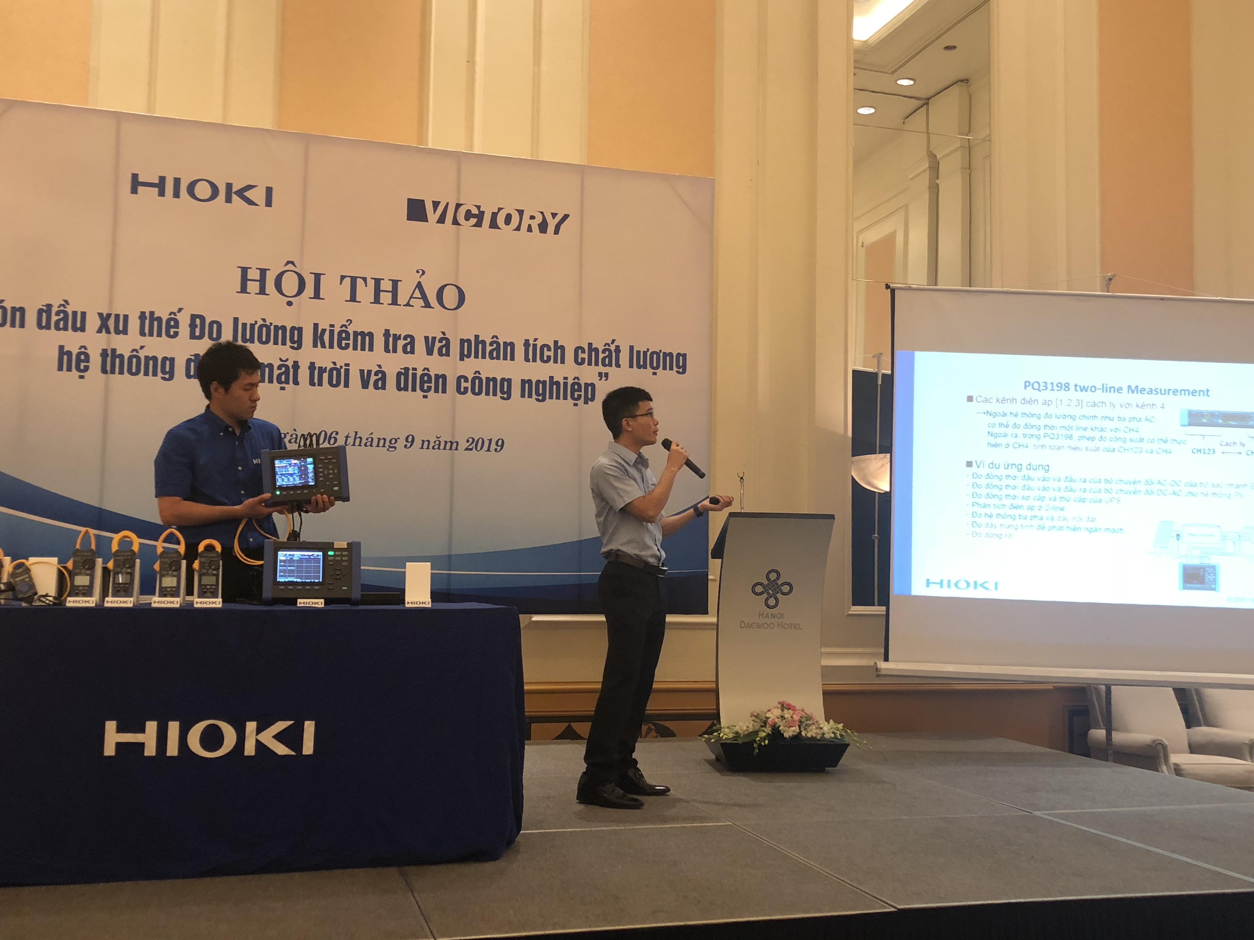 Giới thiệu thiết bị phân tích chất lượng điện PQ3198